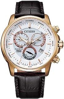 ساعة تناظرية جلد للرجال من سيتيزن- BL8153-11A