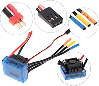 Goolsky 80A Brushless ESC Electric Speed Controller with 6.1V/3A SBEC for 1:8 RC Car Truck