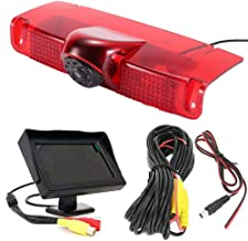 """$108 » 4.3"""" inch Monitor +Third Roof Top Mount Brake Lamp Reverse Rear View Backup Camera Angle and Distance Adjustable IR Night ..."""