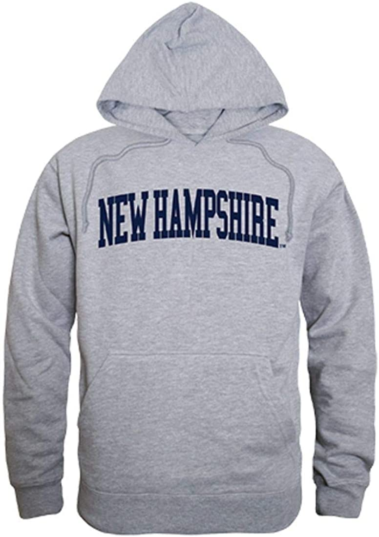 University of New Hampshire Wildcats Game Day Hoodie Sweatshirt Heather Grey