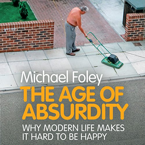 The Age of Absurdity audiobook cover art