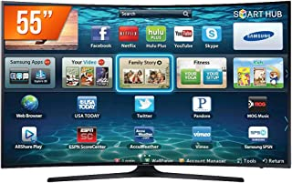 Smart TV LED UHD 4K 55 Curve, Samsung, UN55MU6300GXZD