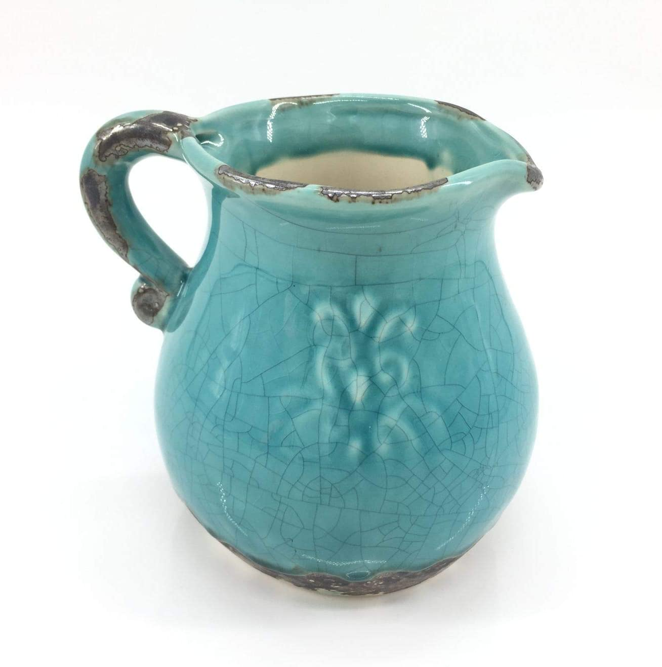 Anding Blue Modern Vase-Pitcher Vase Antique Ceramic Year-end All items in the store gift Plan Design