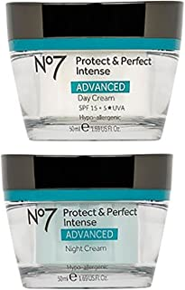 No7 Protect & Perfect Intense Day Cream + Protect & Perfect Intense Night Cream Advanced