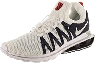 Men's Shox Gravity White/Metallic Silver/White Running Shoe 12 Men US
