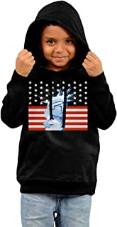 Boy Girl Free American Life Hiking Shirt Sweatshirt Tops Outfits Clothes 3 Toddler