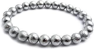 meteorite bead bracelet
