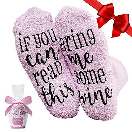 Pinke Wein Socken,