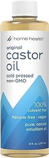 Home Health Original Castor Oil - 8 Fl Oz - Promotes Healthy Hair & Skin, Natural Skin Moisturizer - Pure, Cold Pressed, N...