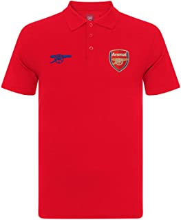 Arsenal Football Club Official Soccer Gift Mens Crest Polo Shirt