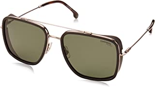 Carrera sunglasses (207-S 6LBUC) Ruthenium - Matt Black - Green polarised lenses