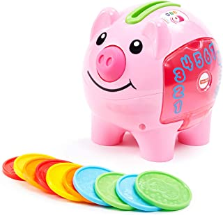Fisher-Price Laugh & Learn Smart Stages Piggy Bank, Standard Packaging