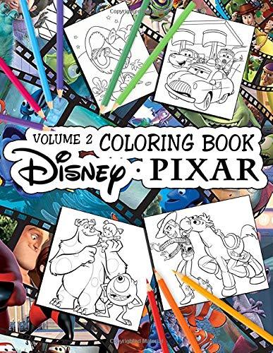 Pixar Coloring Book