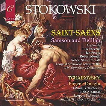 Saint-Saëns: Highlights from Samson and Delilah - Tchaikovsky: Eugene Onegin