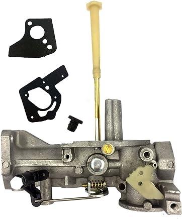 HOOAI 498298 Carburetor for Briggs & Stratton 498298 692784 495951 492611 490533 495426 Carb Gasket Kit