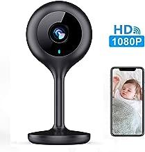 MECO ELEVERDE Camaras de Vigilancia Wifi Interior 1080p Camara Ip Wifi Cámara HD para Bebé / Abuelos / Mascotas con Detección de Movimiento, Visión Nocturna y Audio Bidireccional, Función de Alarma