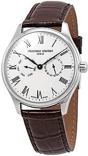 Frederique Constant Classics Quartz Movement Silver Dial Men's Watch FC-259WR5B6-DBR