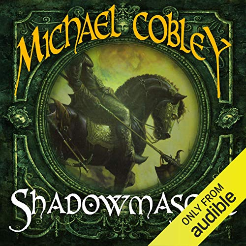 Shadowmasque audiobook cover art