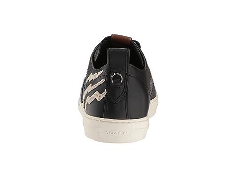 Low Patched Sharkie Top COACH Black C121 xnqtYwZ0S