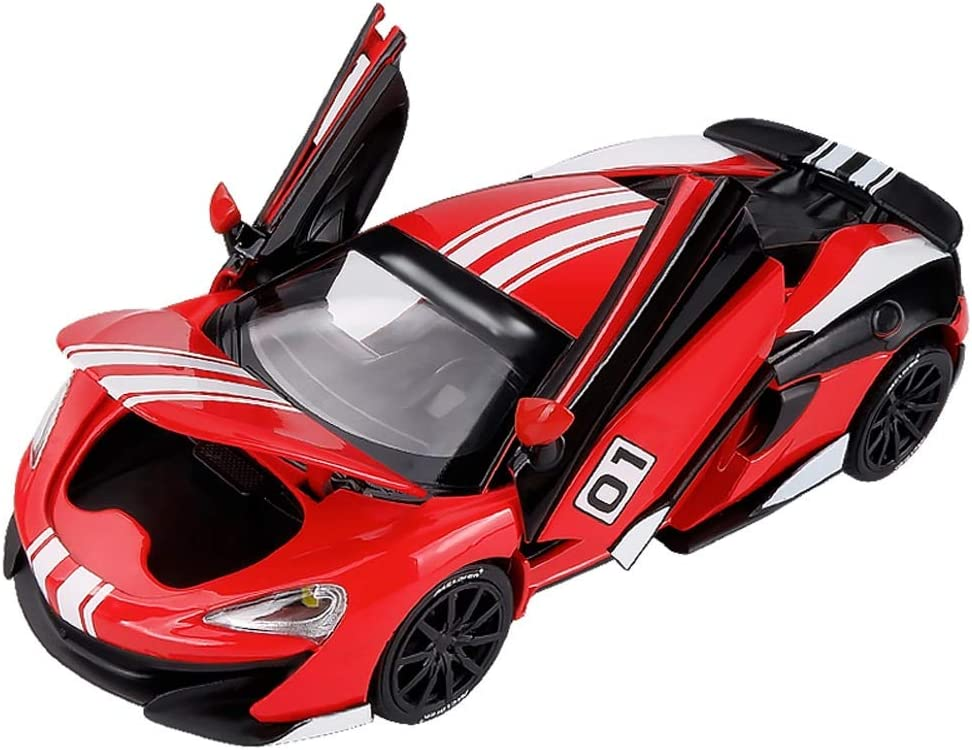 Xolye Metal Max 73% OFF Sports Car Model Alloy Max 49% OFF Door Opena Toy Racing Red