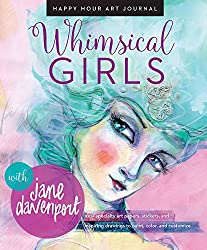 whimsical girls happy hour journal by Jane Davenport