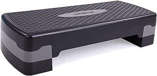 neotheroad 27'' Adjustable Aerobic Workout Step Platform with Risers, for Indoor & Outdoor, Adjust 4