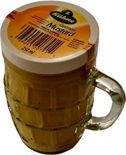 Kuhne - Tarro de cristal (250 ml), diseño de mostaza alemán