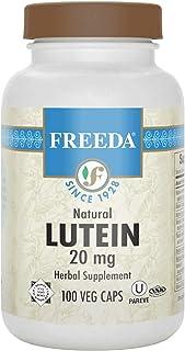 Freeda Natural Lutein 20 Mg - 100 Veg Caps
