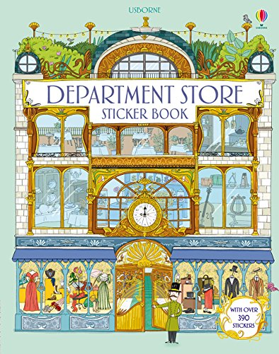 Doll's House Department Store Sticker Book (Doll's House Sticker Book)