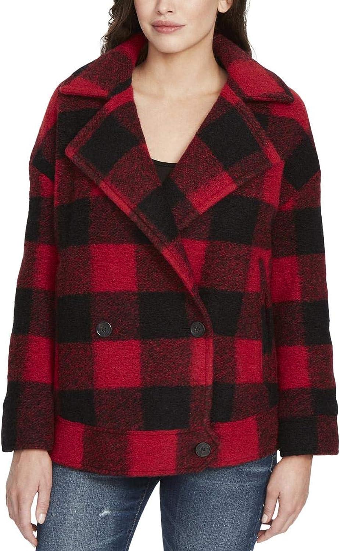 William Rast Women's Boyd BuffaloPlaid Jacket