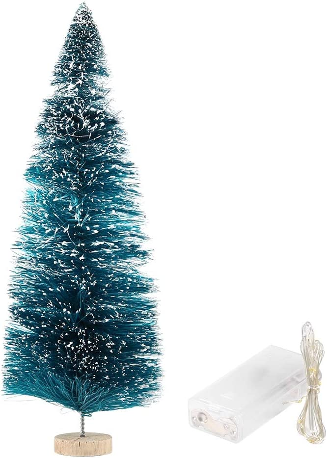 Small Christmas Tree 9.1 inch Mini Finally popular brand Year-end gift Artificial LED
