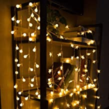 Cadena de estrellas navideñas USB luces de hadas intermitentes al aire libre interior dormitorio jardín fiesta cumpleaños ...