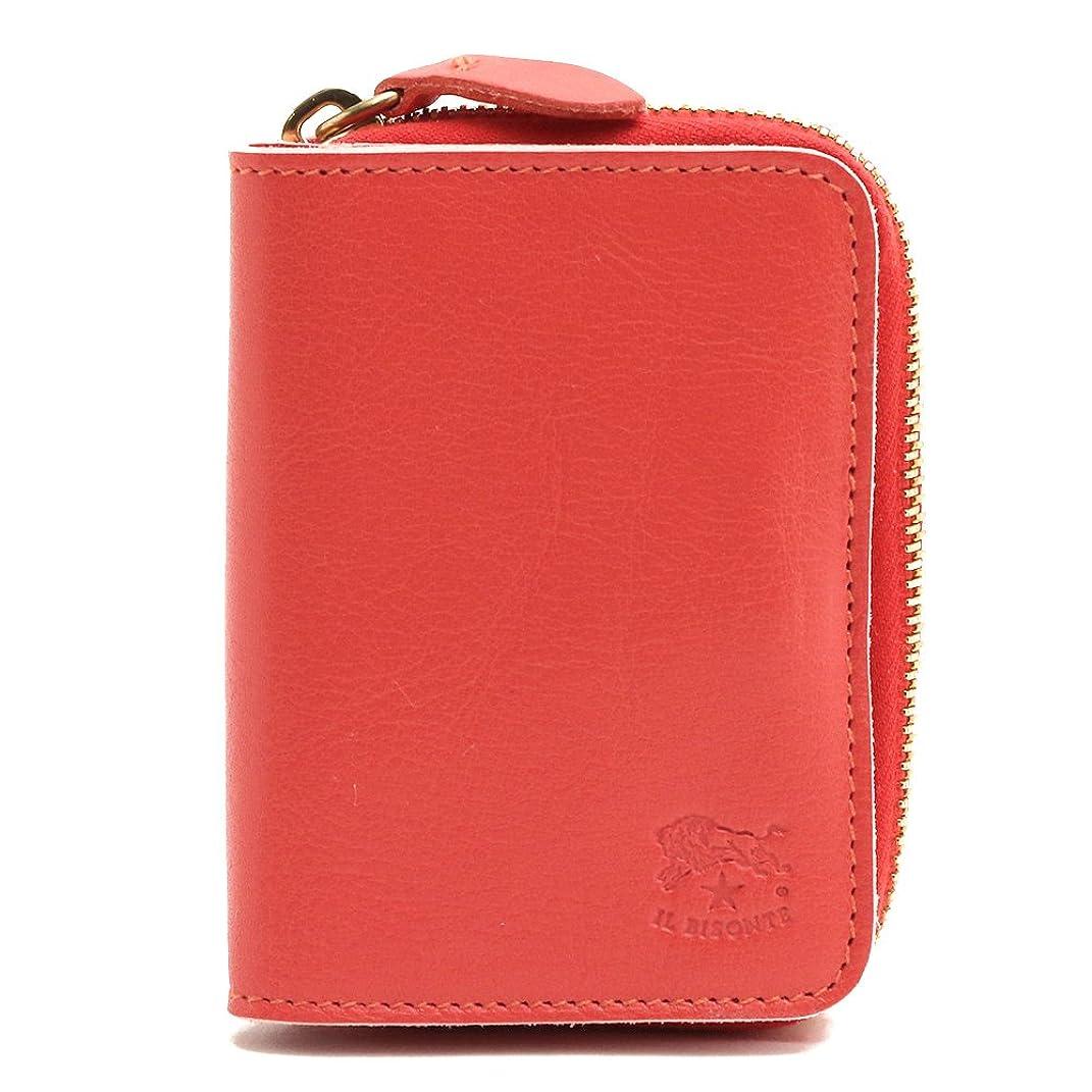 反対する従者犯す(イルビゾンテ) IL BISONTE 財布 コインケース カードケース WALLET COIN CASE CARD CASE 選べる6色 C0701 P/VACCHETTA