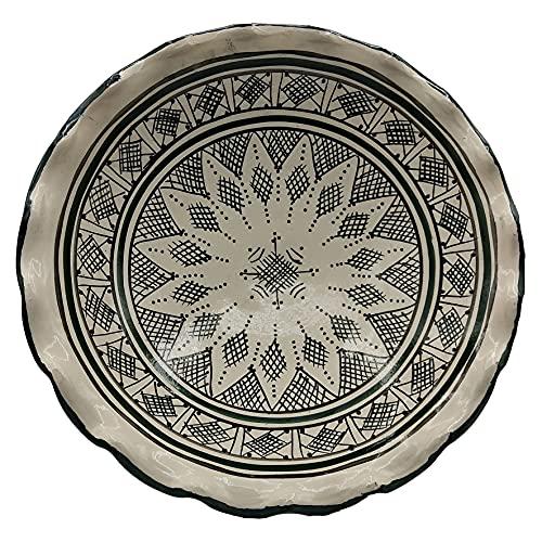 Insalatiera Fruttiera Centrotavola Ceramica Etnica Marocco Marocchino 0605211203