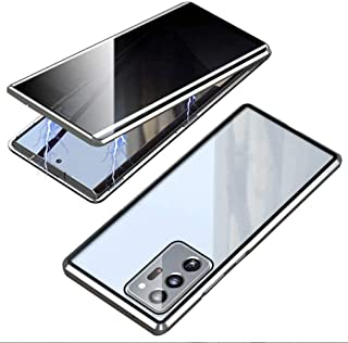 SYBS Anti-Peeping Case with Privacy Screen Protector for Galaxy S21/ S21 Plus/ S21 Ultra, 360 Full Body Magnetic Cover Fro...