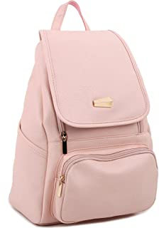 Copi Women's Modern Design Deluxe fashion Backpacks One Size Pink