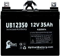 Replacement for Kawasaki Teryx Battery - Replacement UB12350 Universal Sealed Lead Acid Battery (12V, 35Ah, 35000mAh, L1 Terminal, AGM, SLA)