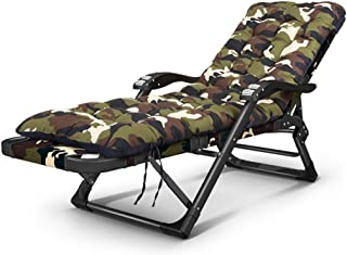 Lounge Chair Lounger Folding Bed Camping Bed Portable Travel Recliner Bedroom Living Room Balcony Nap Chair Leisure Back Armchair,A