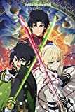 Seraph of The End - Trio Poster Drucken (60,96 x 91,44 cm)