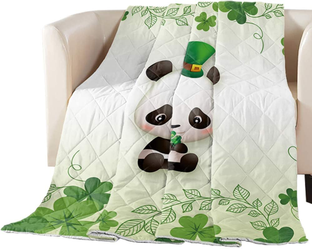 Comforter Duvet Insert Regular discount Home Quilt St. Happy Day Green Patrick's Indianapolis Mall