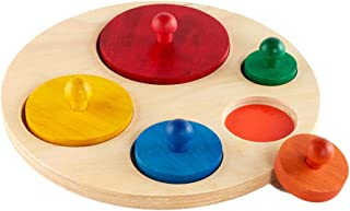 Best wooden circle puzzle Reviews