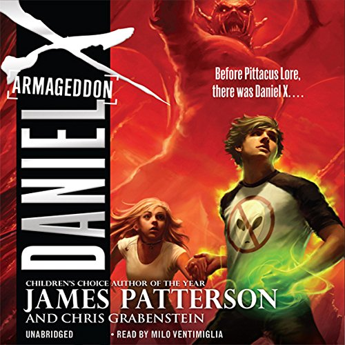 Daniel X: Armageddon     Daniel X, Book 5              By:                                                                                                                                 James Patterson,                                                                                        Chris Grabenstein                               Narrated by:                                                                                                                                 Milo Ventimiglia                      Length: 5 hrs and 48 mins     53 ratings     Overall 4.5