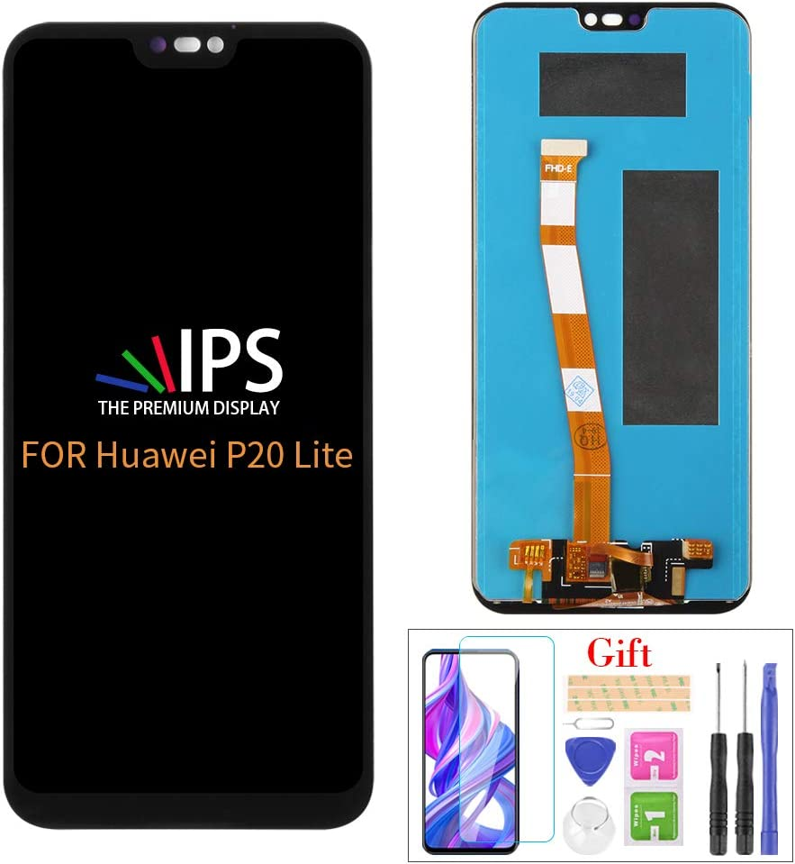 A MIND for Huawei P200 Lite Screen Replacement, for Huawei P200 Lite/Nova 200e  ANE LX20 ANE L2020 ANE LX20 LCD Display Touch Screen Digitizer Assembly ...