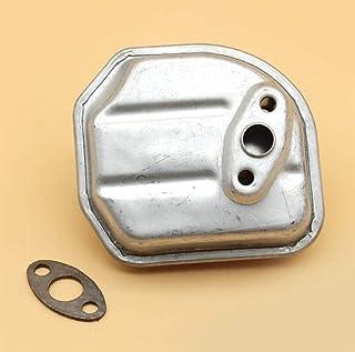 Tiempo Beixi Silenciador de Juntas Kit for Honda GX35 35.8cc Gasolina pequeño Motor de 4 Tiempos Motor UMK435 Trimmer generador de Agua Bomba de cortadoras de césped