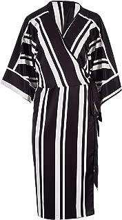 Belle Bird Womens Knee Length Dresses Belle Stripe Dress Stripe - Dresses