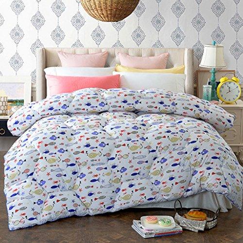 MMM Printemps et automne Quilt Hiver plus épais Garder un étudiant chaleureux Quilts Literie douce Quilt Individual Core (taille : 150 * 200cm(2kg))
