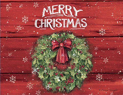 """LANG 1004774 -""""Merry Christmas"""", Boxed Christmas Cards, Artwork by Susan Winget"""" - 18 Cards, 19 envelopes - 5.375"""" x 6.875"""""""