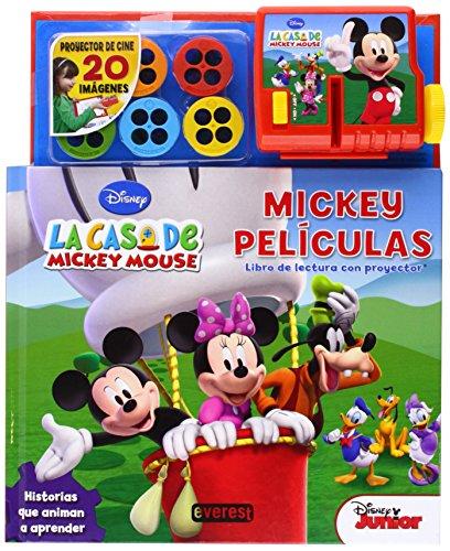 La casa de Mickey mouse. Mickey películas. Libro de Lectura con proyector: Historias que animan a aprender (Singulares la casa de Mickey Mouse)
