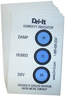 Dri-It HC-00-10 Humidity Indicator Cards