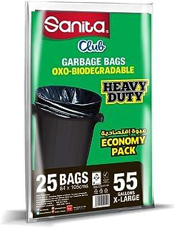 Sanita Club 55 Gallons, 25 Bags